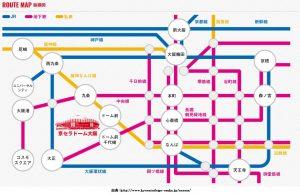 京セラドーム大阪の座席表!AAA2017DOMETOUR