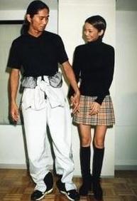 サムと安室奈美恵