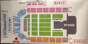 乃木坂46座席表