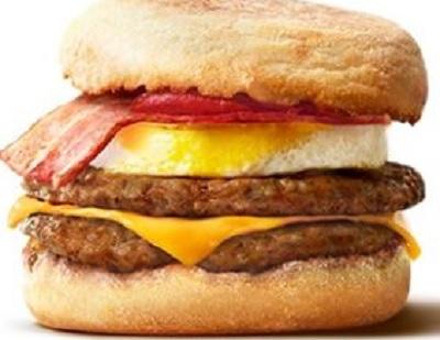 朝マックでカロリー低い順に紹介!